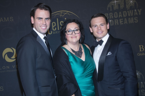 BDF Executive Director Annette Tanner with event chairs Ryan Stana and Adam Sansiveri