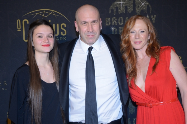 Jeremy Schonfeld with daughter Alexandra and wife Sarah-Jane
