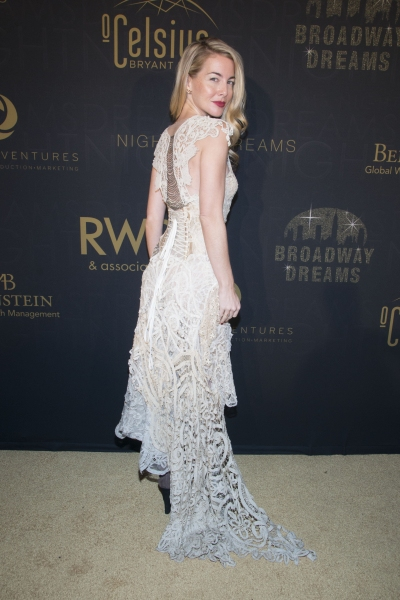 Photo Flash: Morgan James, Cast of ALADDIN and More at Broadway Dreams Foundation's NIGHT OF DREAMS Gala