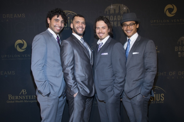 Trent Saunders, Josh Dela Cruz, Dennis Stowe and Mike Cannon from ALADDIN Photo