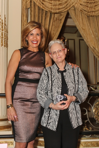 Hoda Kotb, Citymeals-on-Wheels 28th Annual ''Power Lunch for Women'' emcee; Lilliam Barrios-Paoli, Deputy Mayor for Health and Human Services, Citymeals-on-Wheels Honorary Board Member and event honoree