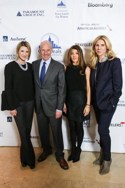 Lizzie Tisch, Citymeals-on-Wheels Board Member; Jonathan Tisch; Christina Steinbrenne Photo