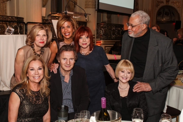 Kathie Lee Gifford Citymeals-on-Wheels 28th Annual ''Power Lunch for Women'' emcee; Christine Baranski; Liam Neeson; Hoda Kotb, Citymeals-on-Wheels 28th Annual ''Power Lunch for Women'' emcee; Patricia Wexler, M.D., acclaimed dermatologist, Citymeals-on-W