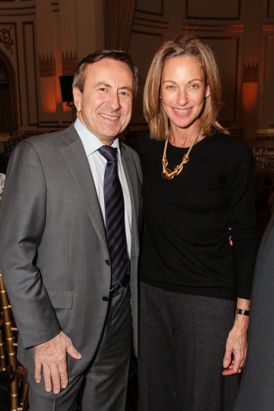 Co-President of the Citymeals-on-Wheels Board of Directors Chef Daniel Boulud; Betsy Bernardaud