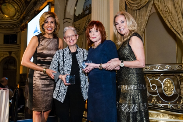 Hoda Kotb, Citymeals-on-Wheels 28th Annual ''Power Lunch for Women'' emcee; Lilliam Barrios-Paoli, Deputy Mayor for Health and Human Services, Citymeals-on-Wheels Honorary Board Member and event honoree; Patricia Wexler, M.D., acclaimed dermatologist, Cit