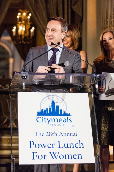 Co-President of the Citymeals-on-Wheels Board of Directors Chef Daniel Boulud