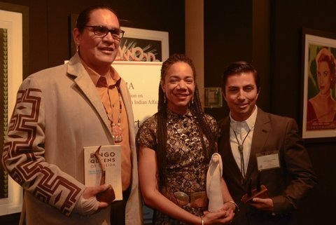 Honorees Ernie Stevens, Jr. (Oneida, Chairman, National Indian