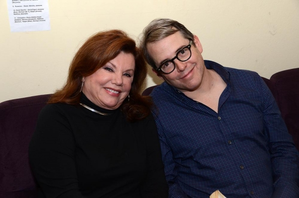Marsha Mason and Matthew Broderick