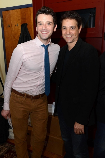 Michael Urie and Ralph Macchio