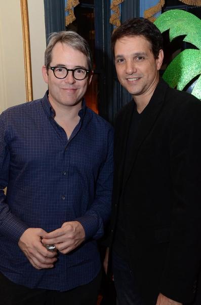 Matthew Broderick and Ralph Macchio