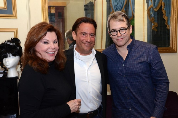 Marsha Mason, Eugene Pack and Matthew Broderick