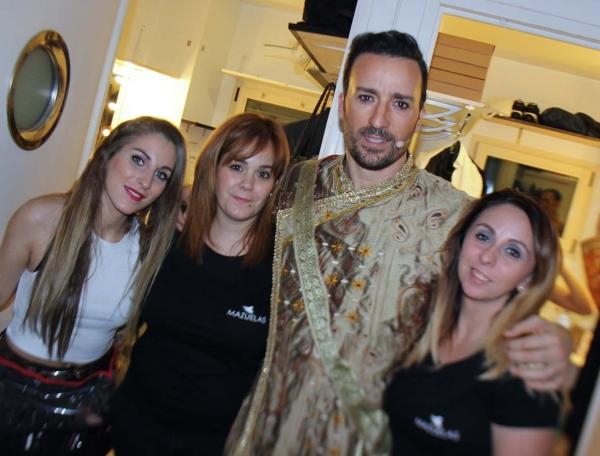Pablo Puyol y el equipo de Mazuelas Profesional Photo