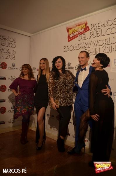 Lourdes Zamalloa, Teresa Ferrer, Ines Leon, Pedro Martel y Lorena Calero