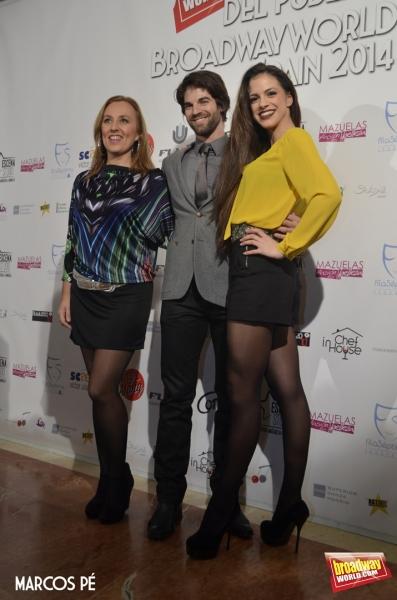 Celia Vergara, Sergio Arce y Teresa Abarca