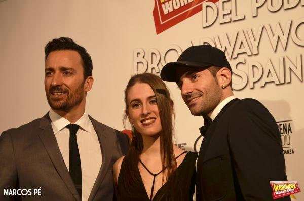 Pablo Puyol, Ana San Martin y Ruben Yuste