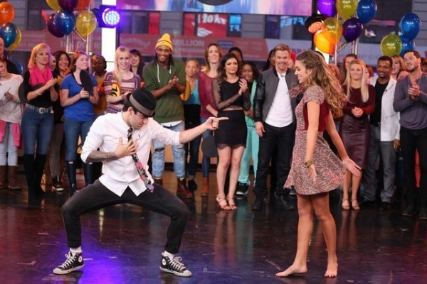 GOOD MORNING AMERICA - The finalists and winners of this season''s ''Dancing With The Stars'' join the After Party at GOOD MORNING AMERICA, 11/26/14, airing on the ABC Television Network.   (ABC/Fred Lee)  MARK BALLAS, SADIE ROBERTSON