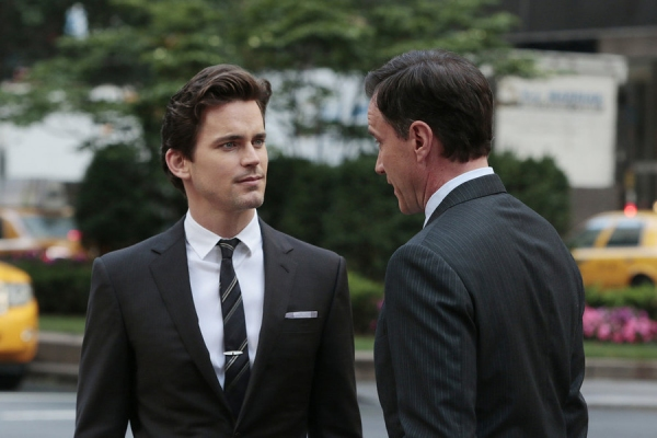 Matt Bomer as Neal Caffrey, Tim DeKay as Peter Burke