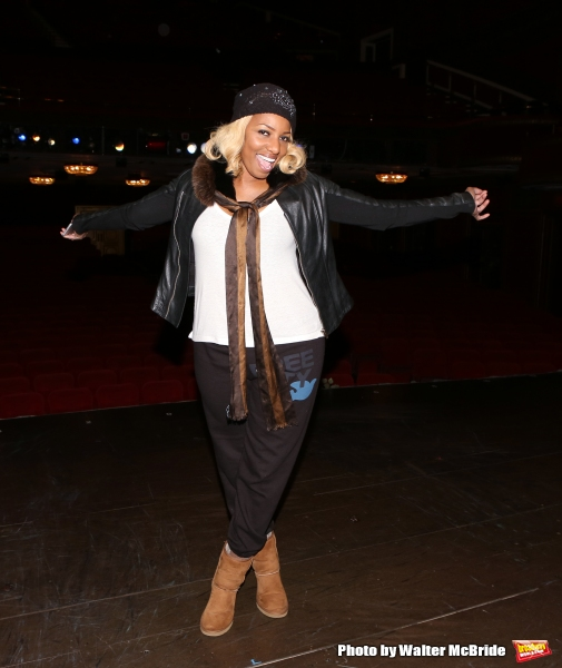Photo Coverage: Backstage at CINDERELLA with Nene Leakes Before Her First Broadway Bow!