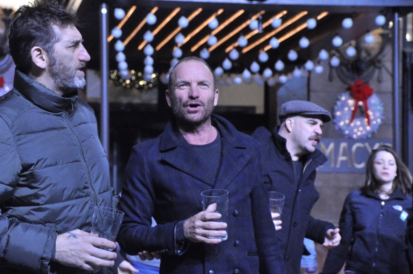 Jimmy Nail, Sting and Eric Anderson