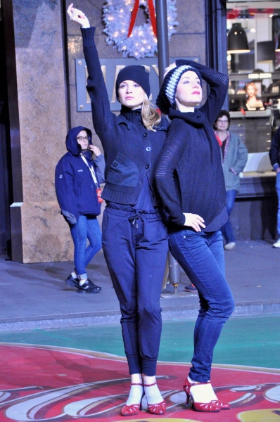 Photo Coverage: Inside Rehearsal for Macy's 88th Annual Thanksgiving Day Parade with Quvenzhane Wallis, the Cast of NBC's PETER PAN & More