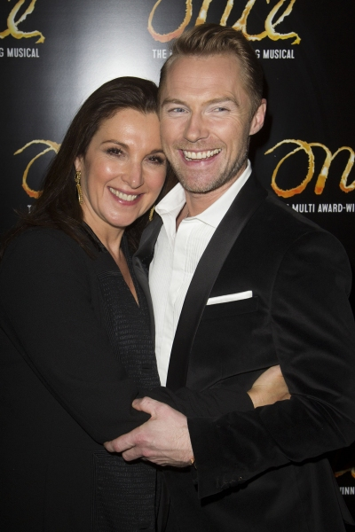 Barbara Broccoli (Producer) and Ronan Keating (Guy)