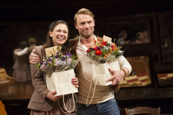 Jill Winternitz (Girl) and Ronan Keating (Guy)