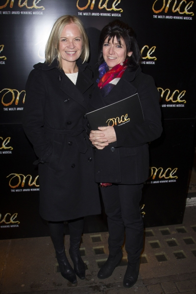 Mariella Frostrup and Emma Freud