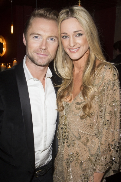 Ronan Keating (Guy) and Storm Uechtritz
