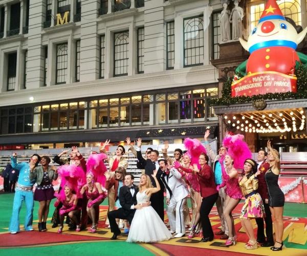 Tony Danza & Cast of HONEYMOON IN VEGAS