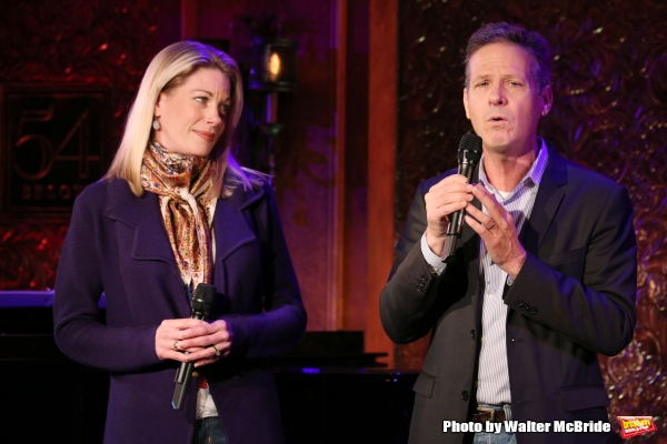 Martin Moran with guest artist Marin Mazzie