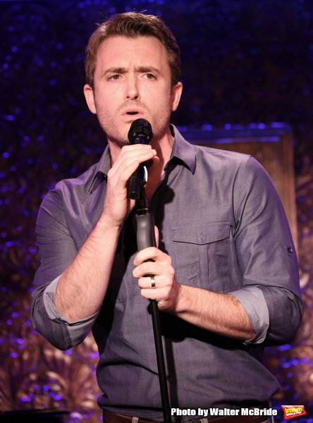 Photo Coverage: James Snyder Previews A FIRST NEW YORK HOLIDAY ROAD WITH FRIENDS at 54 Below