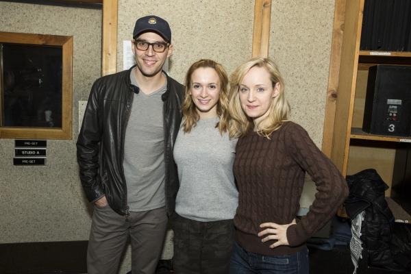 Ryan Silverman, Emily Padgett and Erin Davie