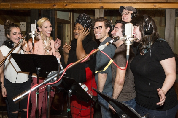 Photo Coverage: In the Recording Studio with the Cast of SIDE SHOW