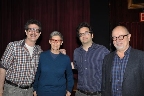 Adam Feldman. Elisabeth Vincentelli, Jason Zinoman and Frank Rizzo