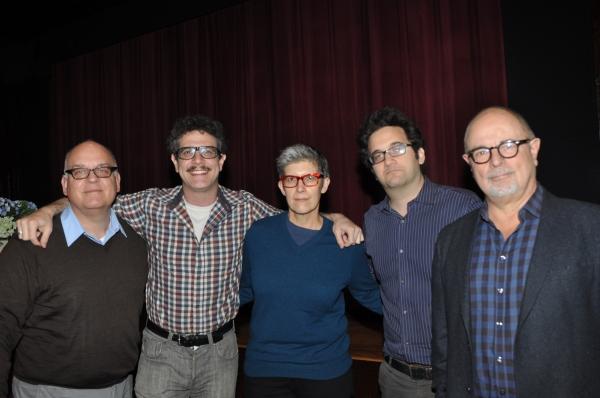 Joe Dziemianowicz, Adam Feldman. Elisabeth Vincentelli, Jason Zinoman and Frank Rizzo