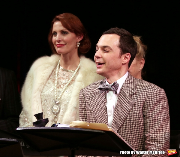 Rachel York and Jim Parsons