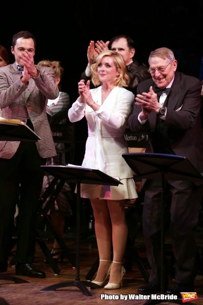 Jim Parsons, Jane Krakowski, Richard Kind and John Cullum