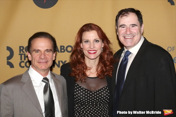 Peter Scolari, Rachel York and Richard Kind