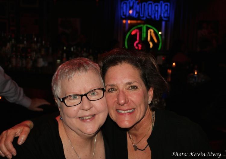 High Res Christine Lavin, Julie Gold