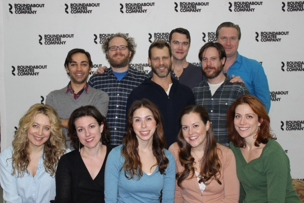 Photo Flash: Roundabout's INTO THE WOODS Cast Meets the Press!