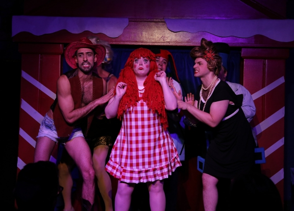 Caitlin Jackson (Center) is the depressed dolly on the Island of Misfit Toys Photo