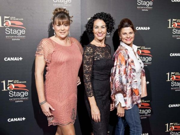 Marta Valverde, Nina y Paula Sebastian Photo