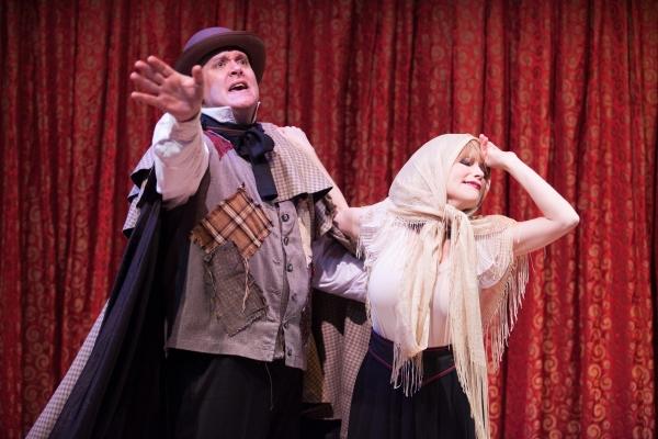 Michael Sharp (John) and Tracey Stephens (Caroline)