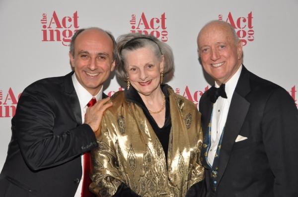 The Acting Company Alumnus, Stephen DeRosa with The Acting Company Board member Dana  Photo