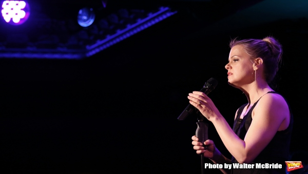 Photo Coverage: Amy Spanger Previews THIS MUST BE THE PLACE at 54 Below