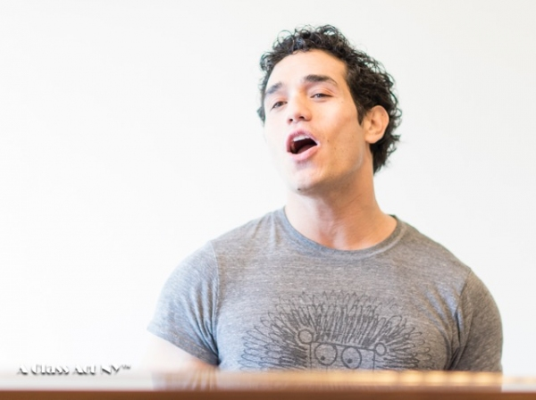 Photo Flash: Adam Jacobs Teaches Musical Theatre Workshop at A Class Act NY