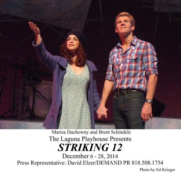 Photo Flash: First Look at Brent Schindele, Marisa Duchowny and More in STRIKING 12 at Laguna Playhouse