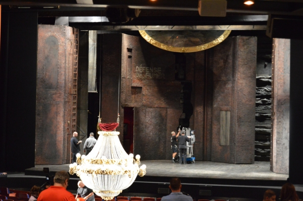 Photo Flash: Backstage with PHANTOM OF THE OPERA Tour at Orlando's Dr. Phillips Center for the ...