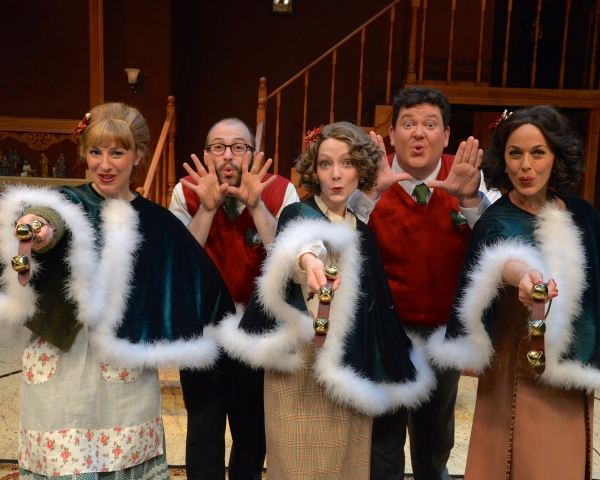 Photo Flash: Westchester Broadway Theatre's IT HAPPENED ONE CHRISTMAS EVE Celebrates Opening