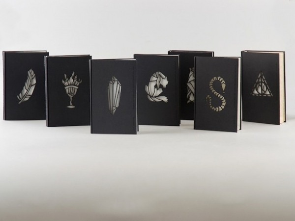 Photo Flash: Design Student Updates HARRY POTTER Series with New Covers